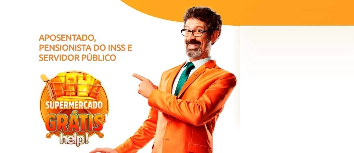 Promoção help! 1 Ano Compras Grátis Supermercado →Participar←