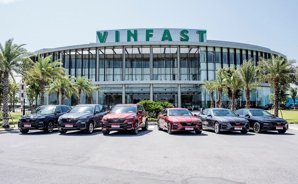 Doanh số xe VinFast tháng 8/2020: Lux SA2.0 tăng nhẹ