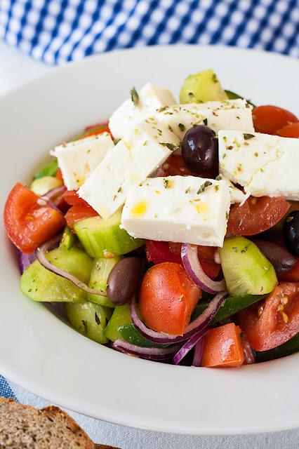 Seoska grčka salata