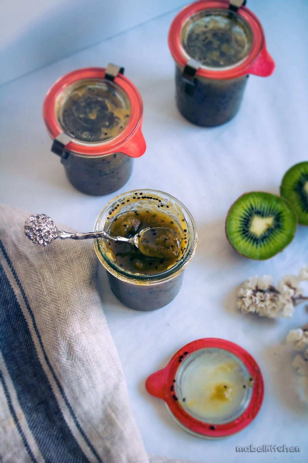 mermelada-kiwi-microondas