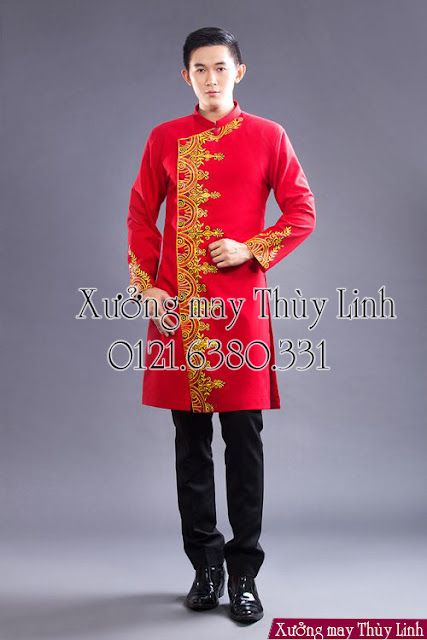 Cho thuê áo dài nam đẹp tại Đống Đa - Hà Nội