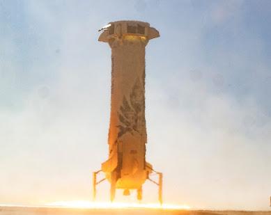 Blue Origin New Shepard rocket