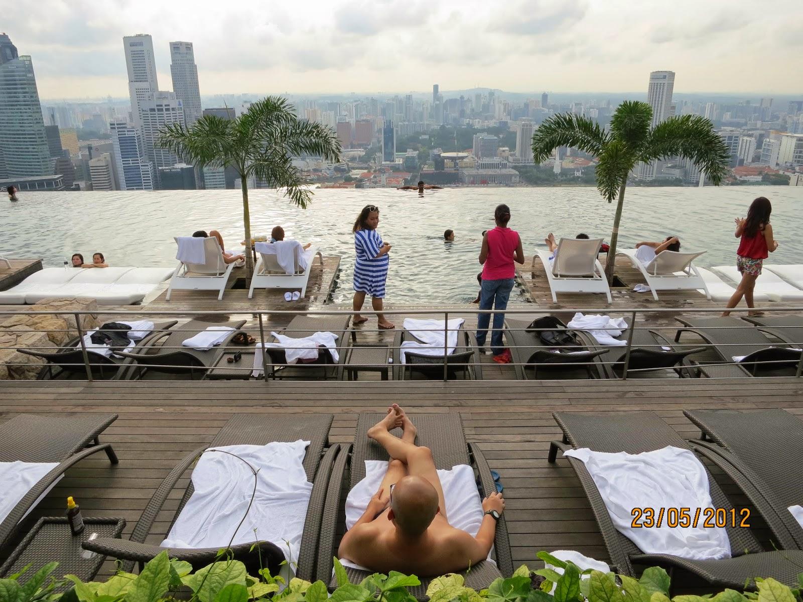 Sunbathing Naked in Singapore?