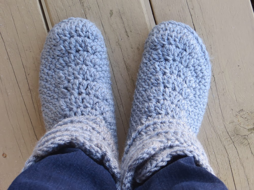 Crochet Dreamz: Woman\'s Slipper Boots Crochet Pattern, Classic Snow ...