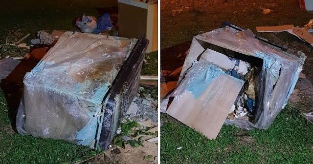 Ditemukan Mayat Wanita Didalam Kotak Dimasukan Kedalam Kotak, Diduga Dibunuh Pacarnya