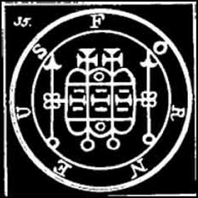 forneus, sigilo, goetia, ocultismo