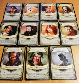 Lords of Waterdeep cards