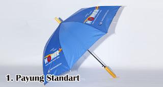 Payung Standart merupakan salah satu jenis payung yang bisa kamu jadikan souvenir