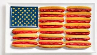 Makanan Unik bendera amerika serikat