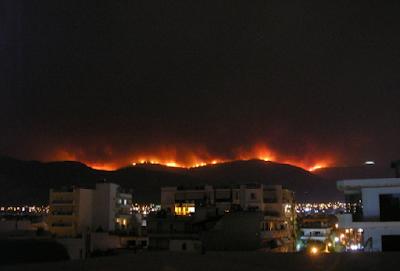 greece fire 2018