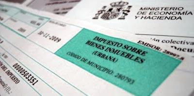 Ejemplo de recibo de Impuesto sobre Bienes Inmuebles IBI