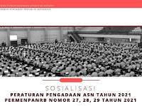 Permen PANRB No 27, 28, 29 Tahun 2021 Tentang CPNS dan PPPK