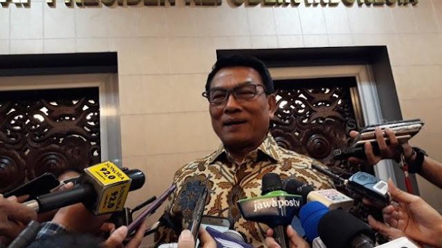 Disuruh Munarwan FPI Ngaji Lagi, Moeldoko Tertawa