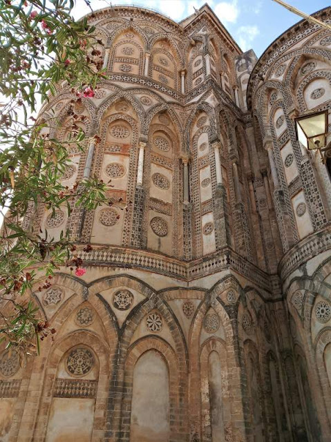 esterno abside del duomo di monreale
