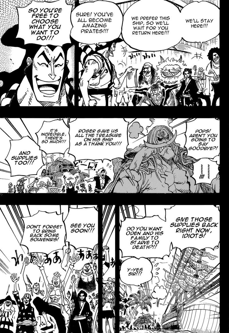 One Piece Manga Chapter 966 - Image 012