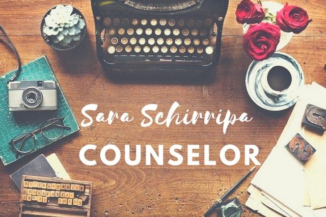 Targa di Sara Schirripa Counselor