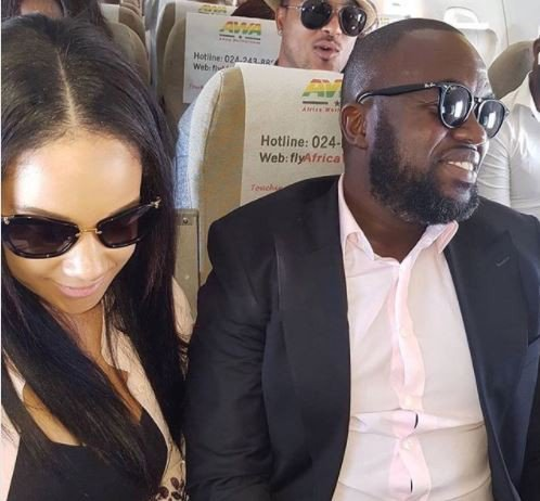 Actor John Dumelo not engaged but rather Fred Nuamah