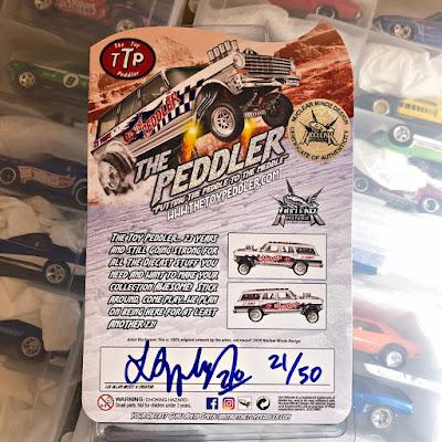 The Toy Peddler 23 Year Anniversary Custom '64 Wagon Gasser nova ttp hot wheels limited edition