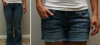 Pantolondan Şort Yapma Örnekleri