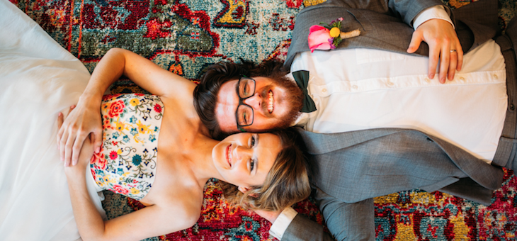 Colorful Denver Brewery Styled Shoot