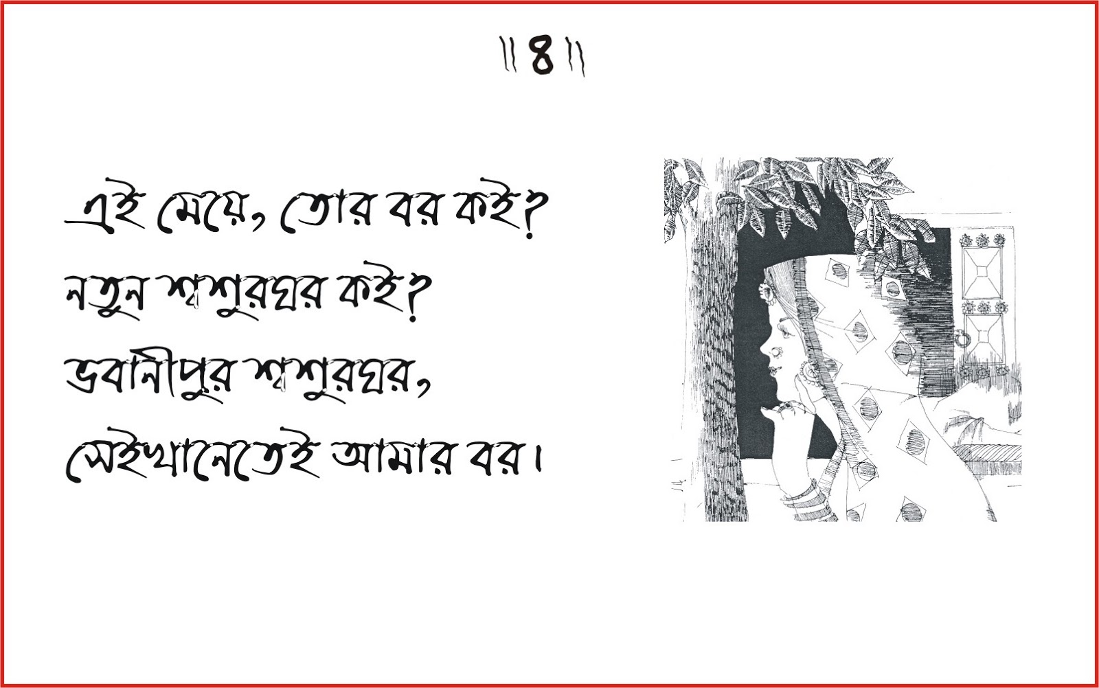 Biyer chora in bangla