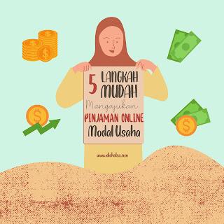 5 Langkah Mudah Mengajukan Pinjaman Online tuk Modal Usaha