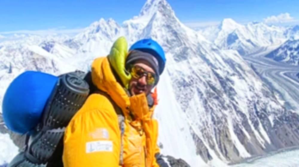 Pakistani Climber Becomes World's 2 Tallest Mountains