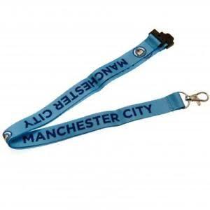 Jual tali lanyard Manchester city