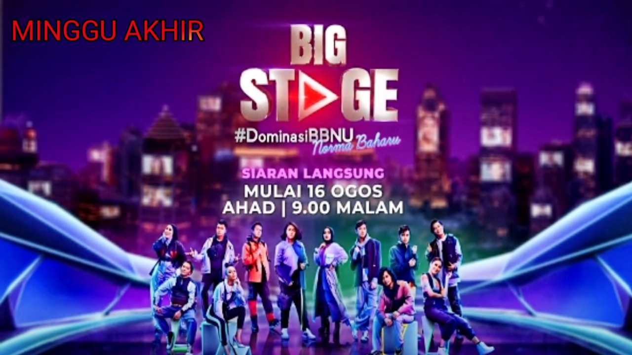 Live Streaming Big Stage 2020 Minggu 8 (Akhir)
