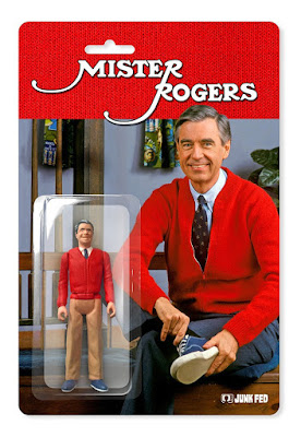 C2E2 2018 Exclusive Mister Rogers Resin Action Figure by Junk Fed