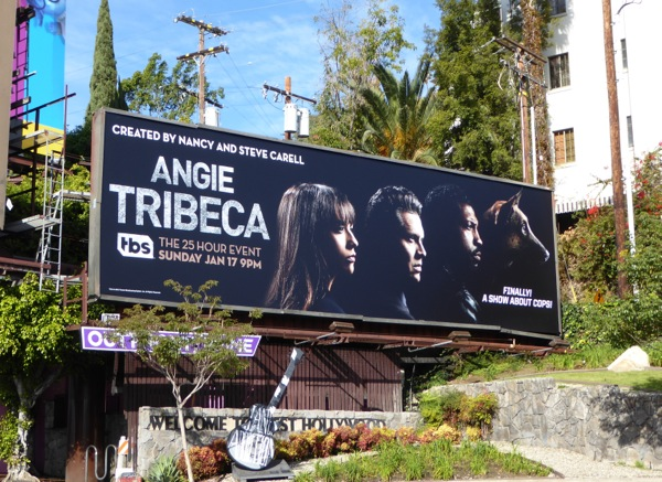Angie Tribeca series premiere billboard