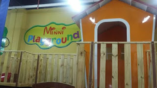 Mini Playground Arena bermain anak edukatif di Tanjungpinang City Center