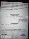 அரசு ஊழியர்கள் இனி 33 ஆண்டு பணிக்காலம் அல்லது 60 வயது - ஓய்வூதியத்திற்கான மசோதாவை நிதி அமைச்சகம் நிறைவேற்றியது.