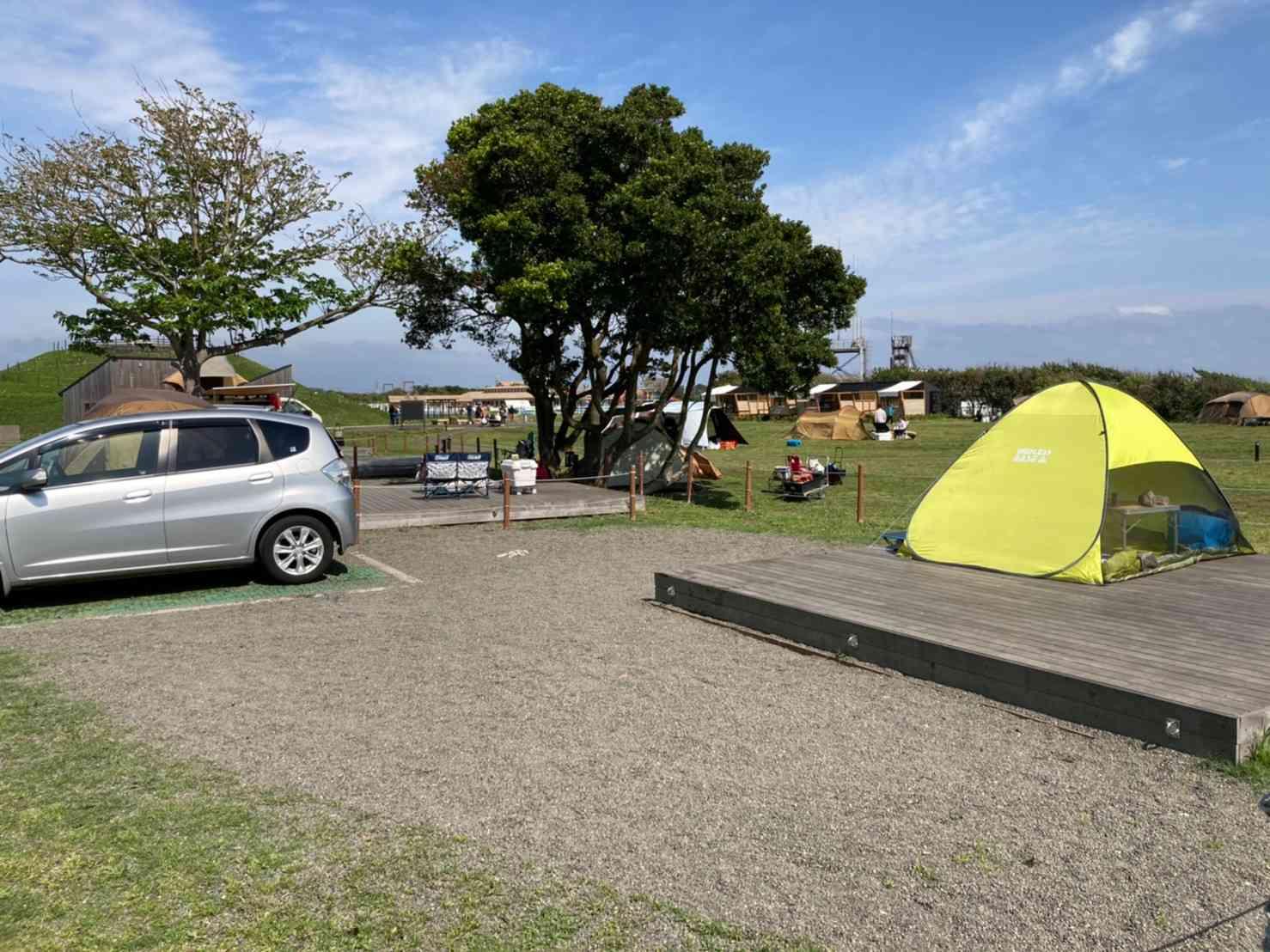 ソレイユの丘「オートキャンプサイト」