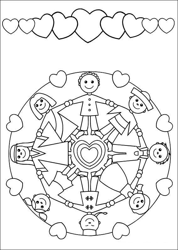 Okul Oncesi Art Print 6 7 Yas Ve Ustu Yas Grubu Mandala