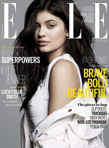 kylie jenner sexy cover elle uk magazine