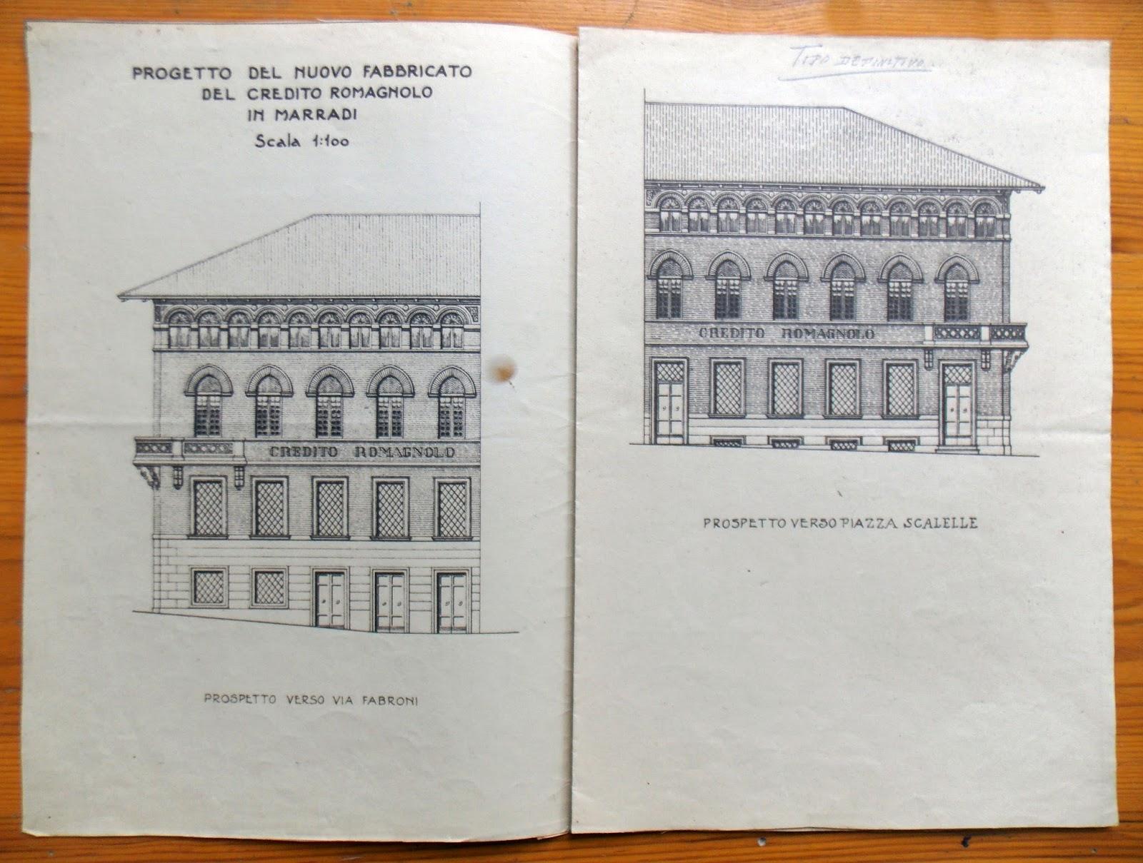 Il blog della biblioteca di marradi il credito romagnolo for Planimetrie per case di 1800 piedi quadrati