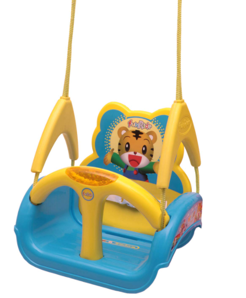 Fun Ride Plastic Musical 3 in 1 Adjustable Swing for Kids(Blue)