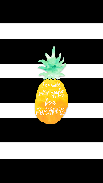 pineapple iPhone wallpaper