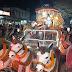 सारठ में निकला भव्य शिव बारात और झांकी, कई देवी-देवता व भूत बेताल हुए शामिल