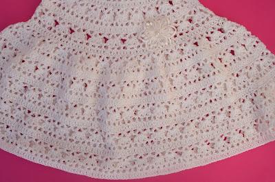 4 - Crochet Imagen Falda para canesú cuadrado a crochet Majovel crochet