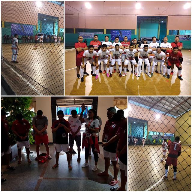 Tumbangkan Tim Futsal Kaltim, Futsal Sulut Lolos ke Babak Semi Final