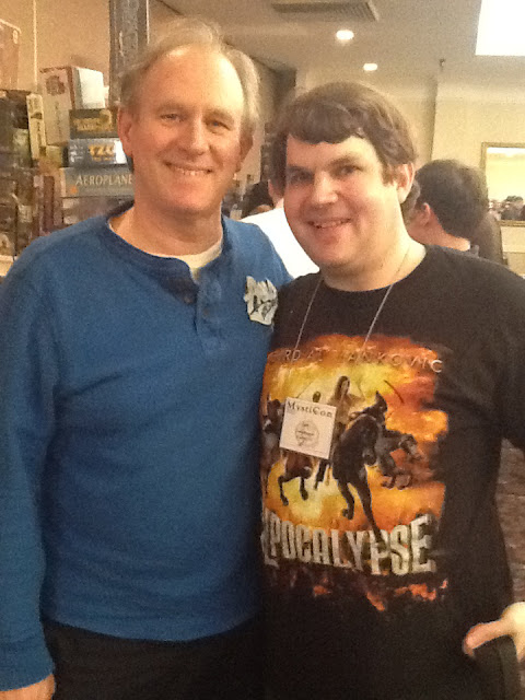 Peter Davison, Doctor Who, Fifth Doctor, Mysticon, Chris Knight