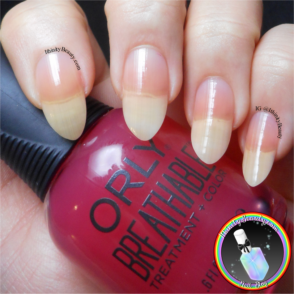 ORLY Breathable Review - Part 3 | IthinityBeauty.com Nail Art Blog