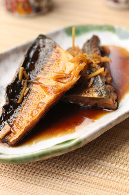 poisson gras cuit à la sauce soja