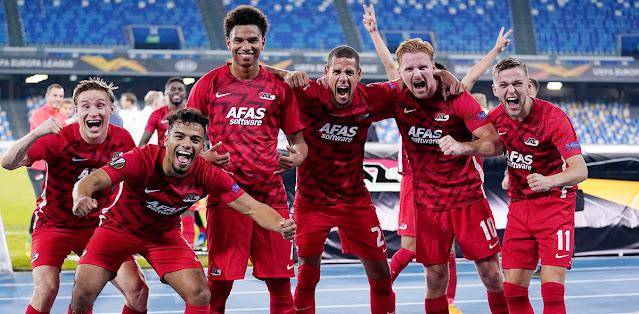 Napoli vs AZ Alkmaar – Highlights