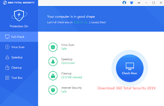 Download 360 Total Security 2019 Offline Installer