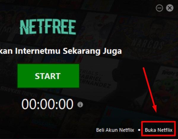 Buka NetFlix Pakai Netfree