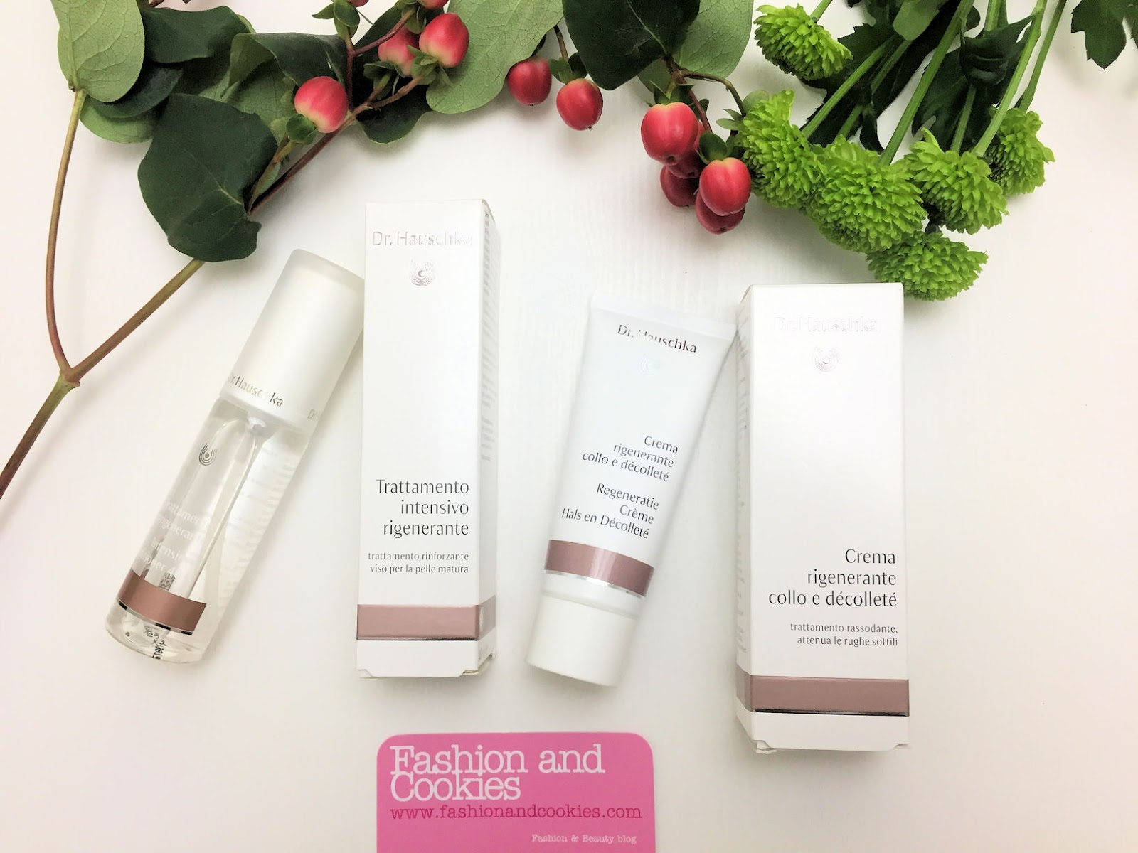 Dr. Hauschka:  due trattamenti specifici per rigenerare la pelle del viso, di collo e décolleté su Fashion and Cookies beauty blog, beauty blogger