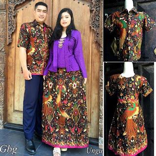 koleksi batik sarimbit keluarga
